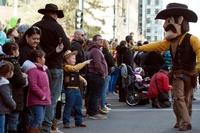 カウボーイ&ガールにロデオ大会、米デンバーで畜産業の祭典