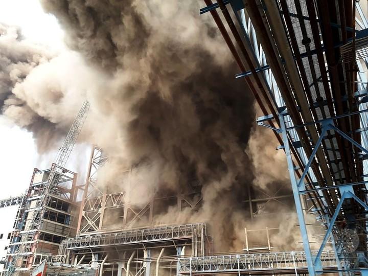 インドの火力発電所爆発、死者26人に
