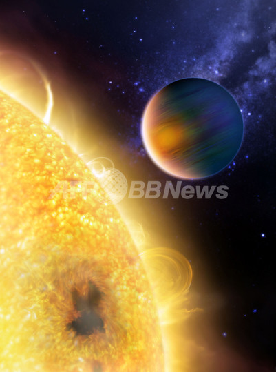 太陽系外惑星でメタンと水を確認、NASA