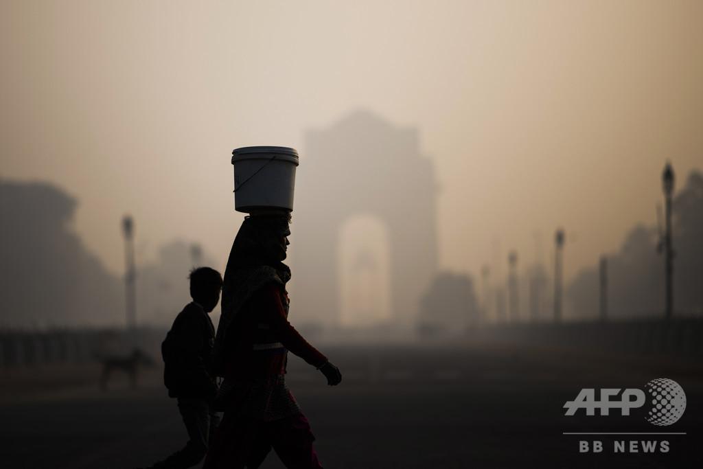 PM2.5による大気汚染、最悪都市の9割が中国とインドに 研究