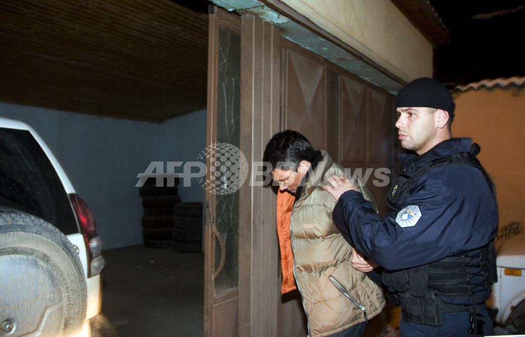 コソボ、テロ容疑でドイツ人3人逮捕 独情報機関員か