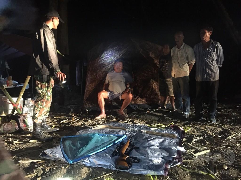 タイの「建設王」、ヒョウを密猟した疑いで逮捕