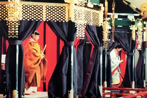 AFPの報道で振り返る、天皇陛下の即位の日