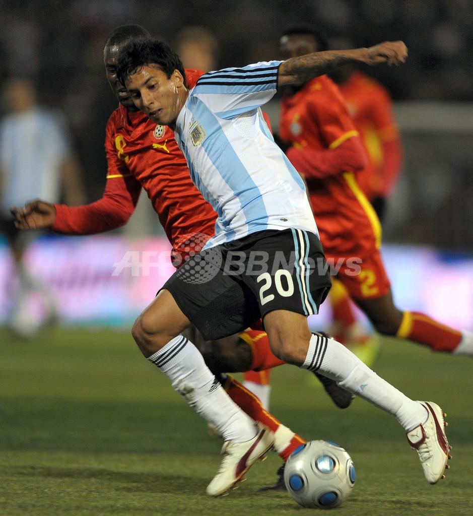 アルゼンチン 親善試合でガーナに勝利