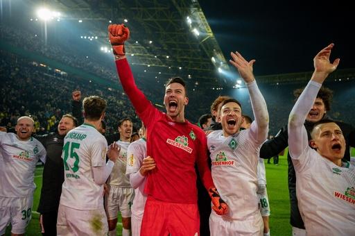 ドルトムントがドイツ杯敗退、PK戦の末にブレーメンに敗れる