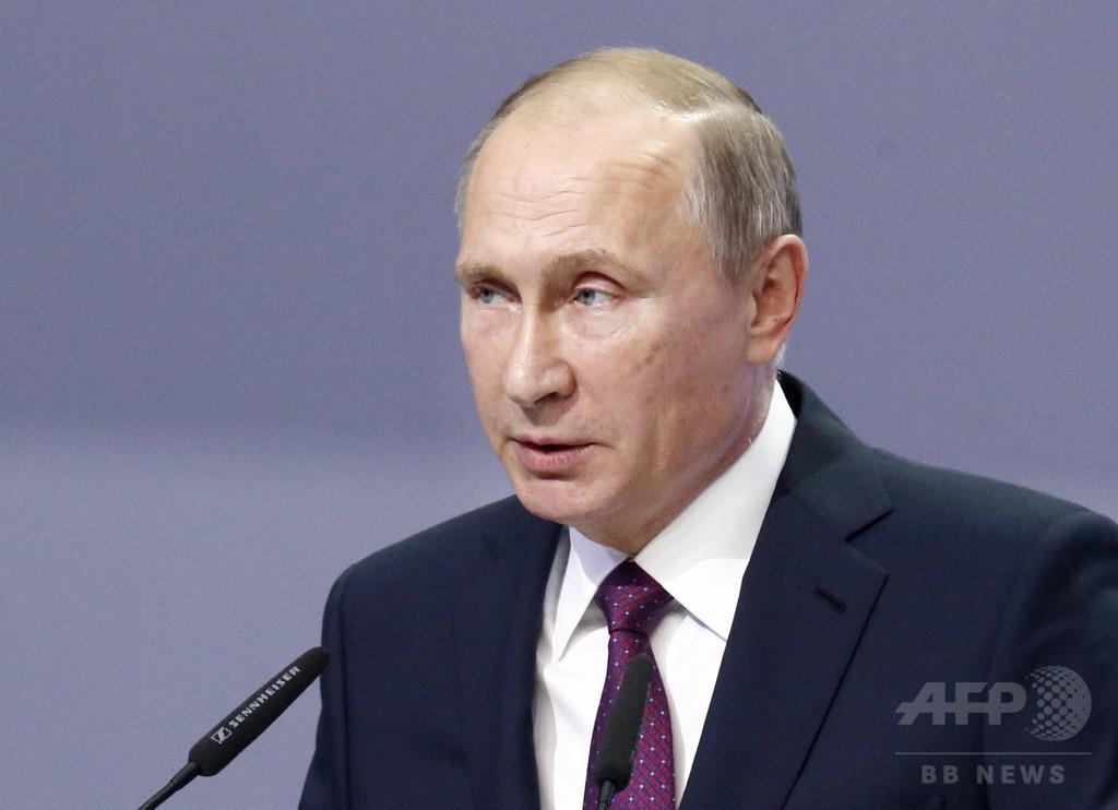 トランプ氏とロシア大統領が電話会談、関係正常化で一致
