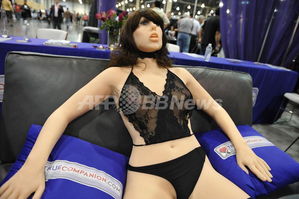 世界初「セックスロボット」が登場、米ラスベガス