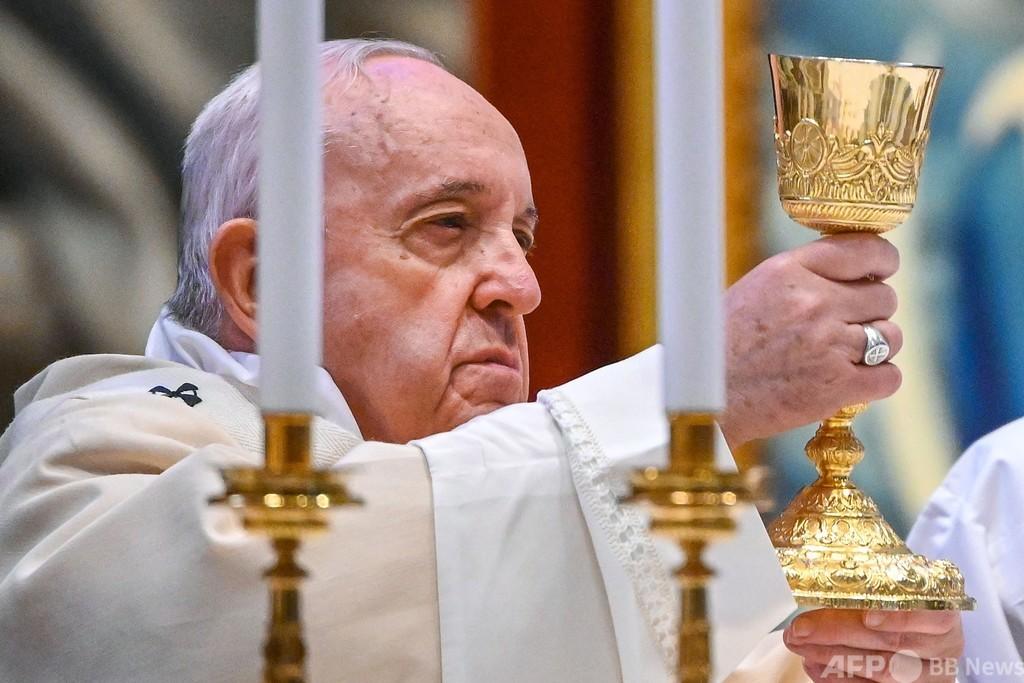 ローマ教皇、反コロナ対策デモを批判