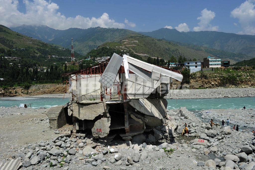 パキスタン大洪水から1年、予防策進まず雨期再び