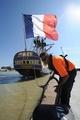 仏軍人ラファイエットが乗った帆船の復元船、いよいよ初航海