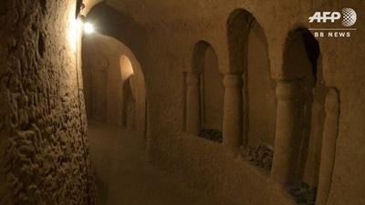 動画:ジャガイモ貯蔵庫のはずが地下迷宮に、観光客も アルメニア