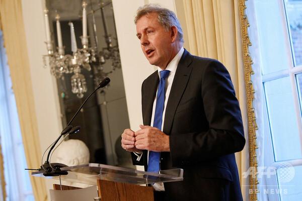 トランプ氏の怒り買った駐米英大使、辞任を表明