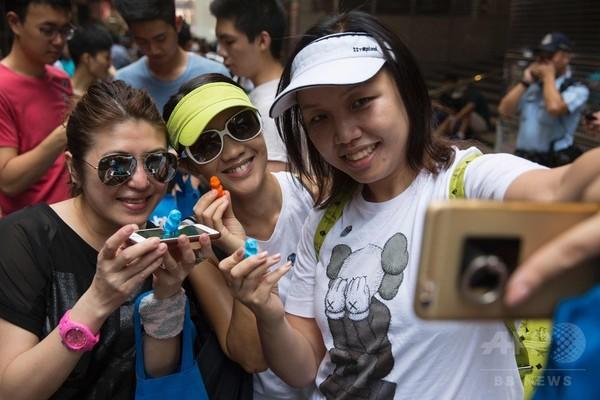 香港で初の「ポケモンGO」ファンイベント、数百人が参加