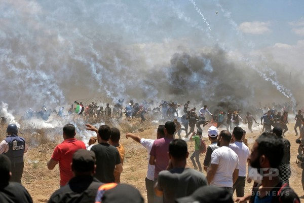 イスラエル・パレスチナ紛争、ガザ地区で爆発