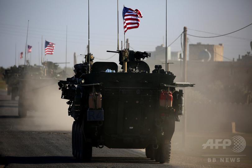 米、シリアに最大1000人の増派計画 IS掃討加速へ