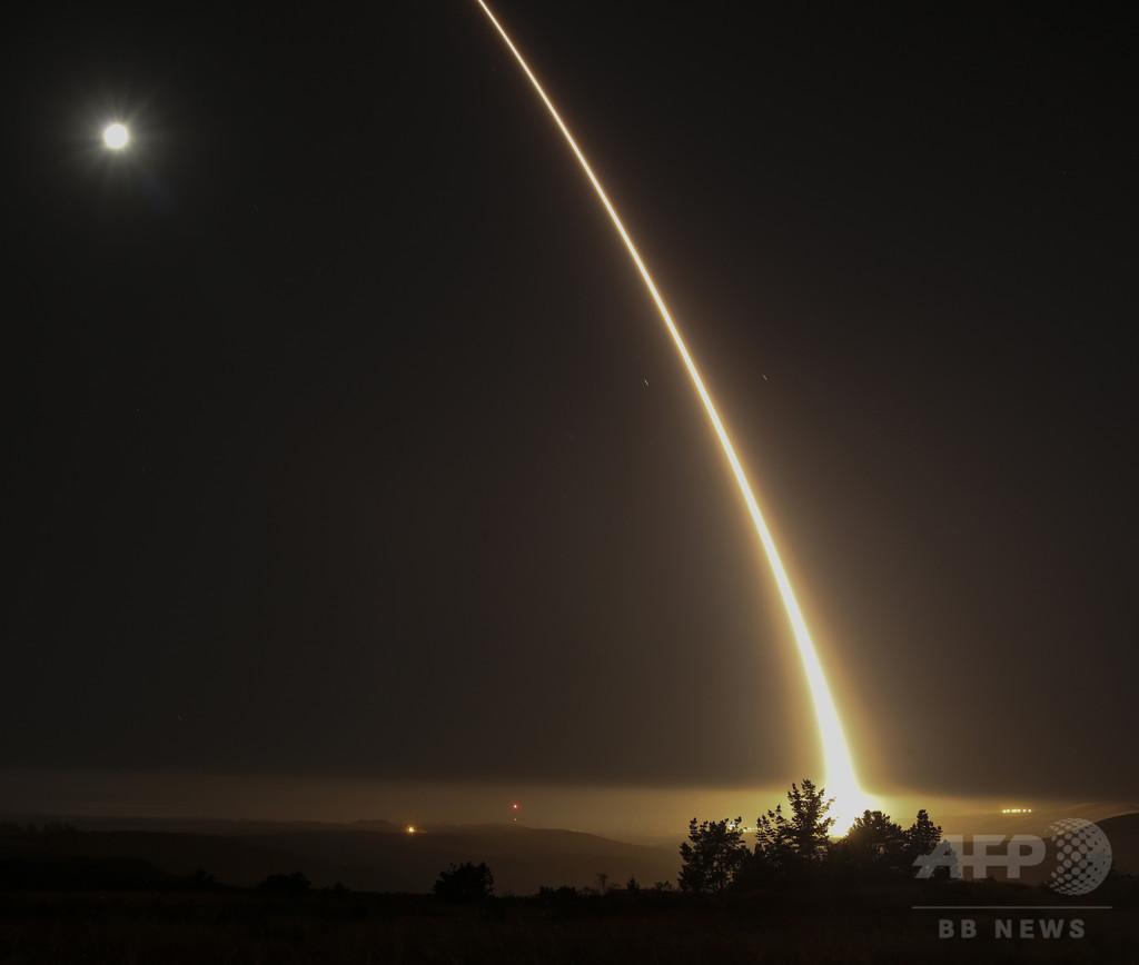 米軍、ICBM発射実験を実施