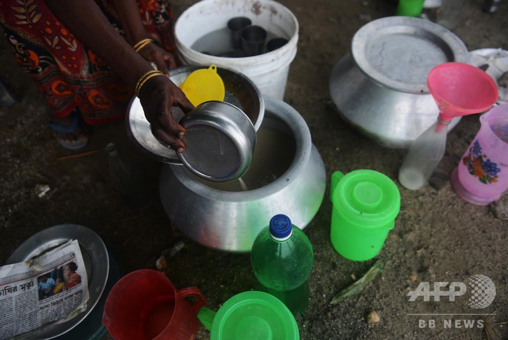密造酒で99人死亡、逮捕者3000人との報道も 印北部