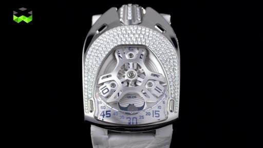 ウルベルク初の女性向け時計「UR-106ロータス」