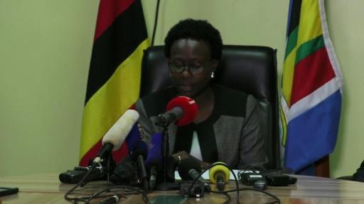 動画:ウガンダ男児、エボラで死亡 家族も2人感染 WHO緊急会合へ