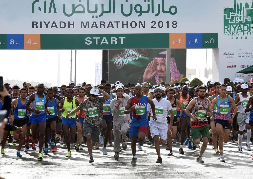 2a81f691ba サウジ首都で初の国際ハーフマラソン、優勝賞金2900万円 写真4枚 国際 ...