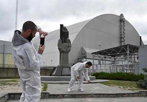 立ち入り禁止区域で自撮りに夢中、チェルノブイリに観光客急増