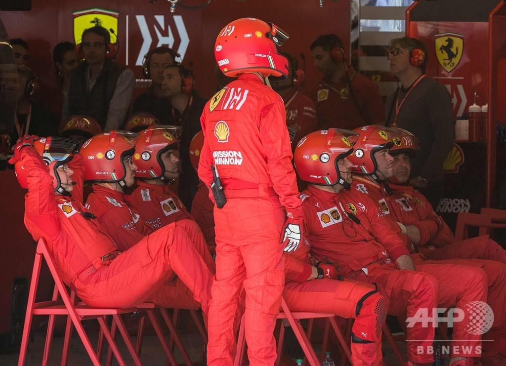 失速のフェラーリ、フェルスタッペンの「不正行為」発言に反論