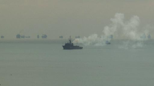 動画:ロシア、ウクライナ艦船3隻を拿捕 情勢緊迫化、安保理が緊急会合へ