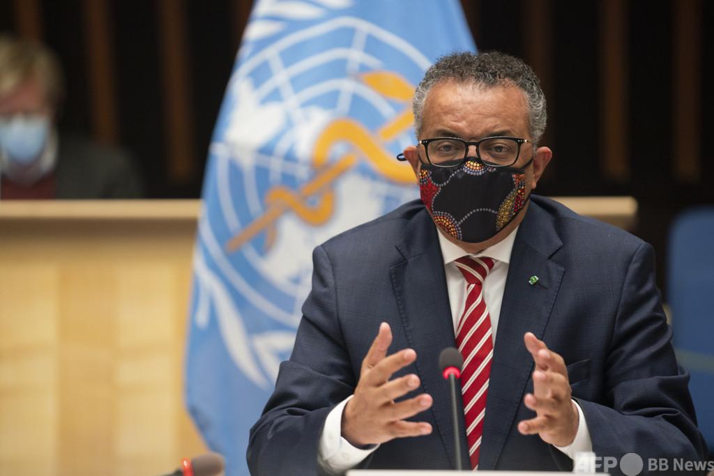 WHOテドロス事務局長、母国の紛争介入疑惑を否定