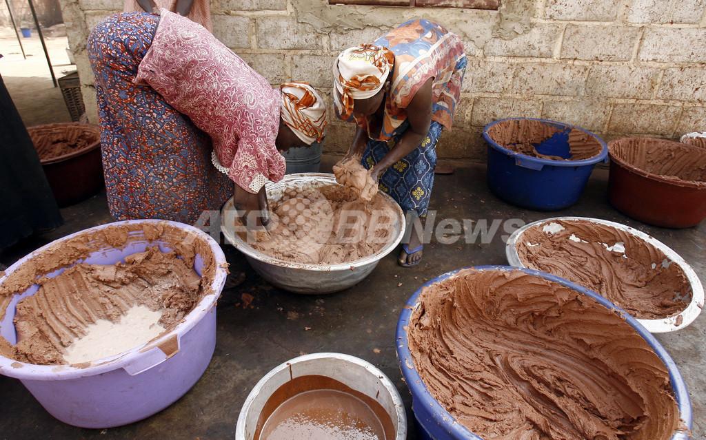シアバターで潤うアフリカの女性たち - ブルキナファソ