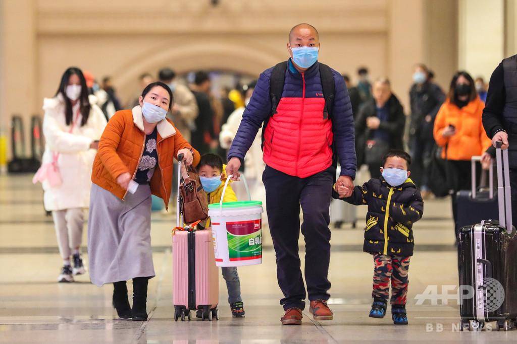 中国、新型コロナウイルスの死者9人に 感染者数は440人、さらなる拡大の恐れ