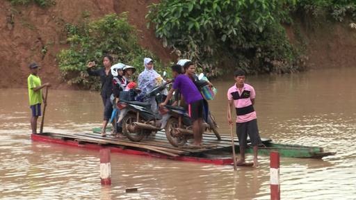 動画:ラオスのダム決壊、26人の遺体収容 行方不明者は131人