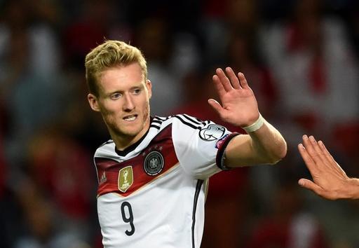 ドイツ、シュールレのハットトリックなどで大勝 欧州選手権予選