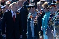 プーチン大統領、クリミアを訪問 編入後初