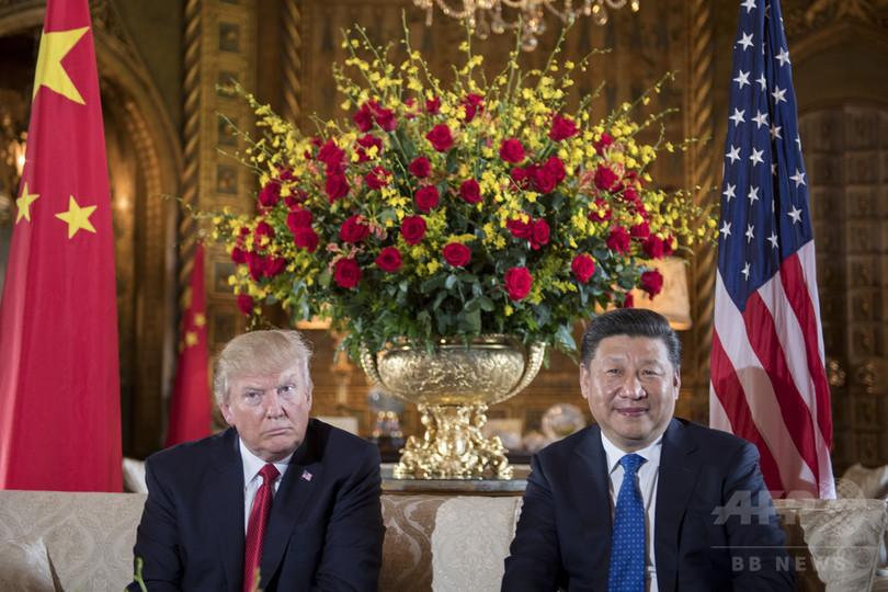 トランプ氏、北朝鮮の「愚行終わらせる」 ミサイル発射受け中国に要請