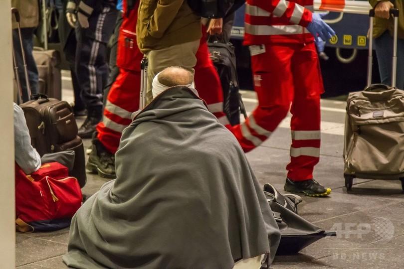 列車同士が衝突、54人負傷 オーストリア