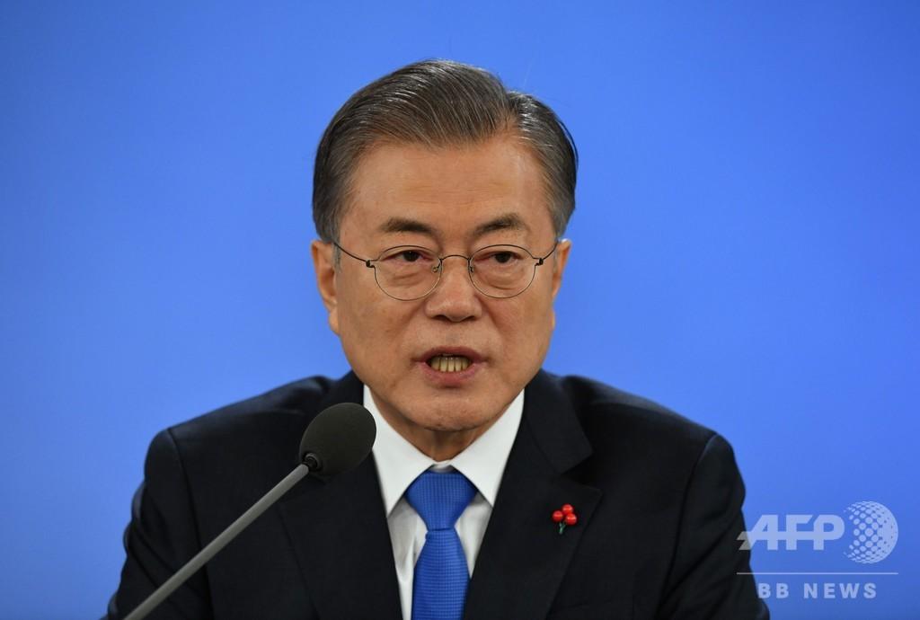 韓国大統領、「日本政府はもっと謙虚な態度取るべき」