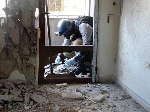 国連調査団が活動を終了、シリア化学兵器疑惑