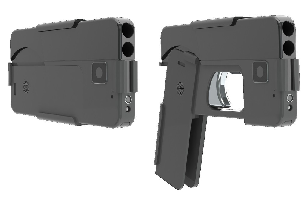 スマホ形拳銃、米で発売へ 「目立たず、見つからない」と宣伝