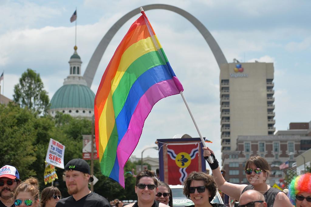米国の同性愛経験者、25年間で倍増 調査