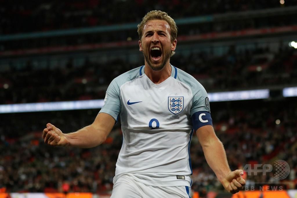 イングランドが6大会連続W杯出場決定、ケインが劇的決勝ゴール