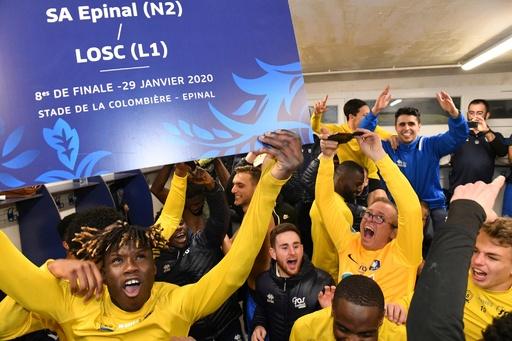 フランス杯で連日の番狂わせ、アマチームが1部クラブ破って8強入り