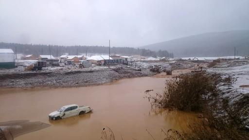 ロシアの金鉱で違法ダム決壊、15人死亡 13人が行方不明に