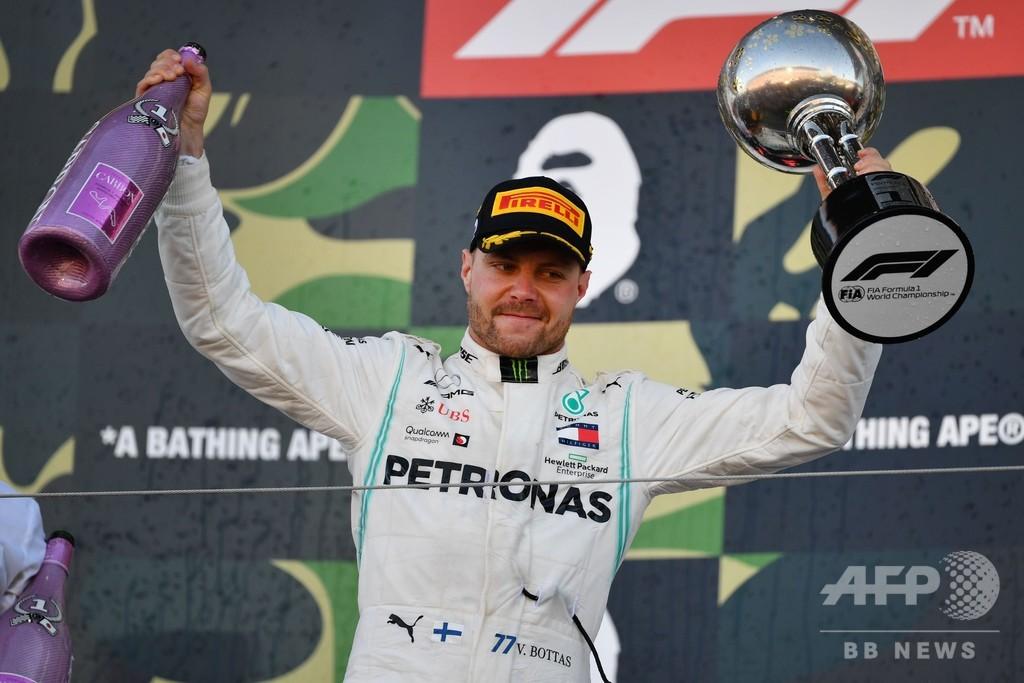 ボッタスが日本GP優勝、メルセデスがコンストラクターズ6連覇達成