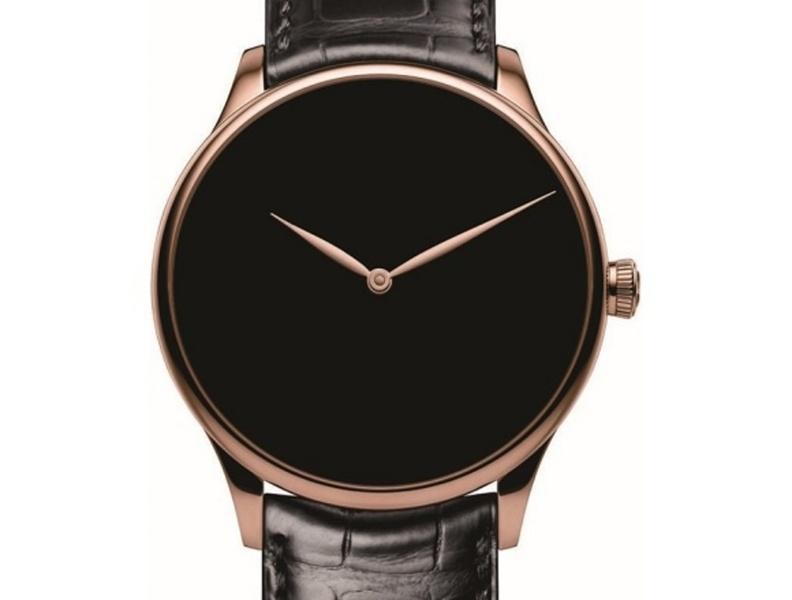 「22世紀に遺したい時計」名畑政治が推す1本/H.モーザー ベンチャー・コンセプト ベンタブラック(R)