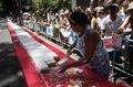 リオ市誕生450周年、巨大ケーキでお祝い ブラジル