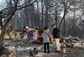 米大統領、森林火災の被災地視察 「ずさんな森林管理が原因」と改めて主張