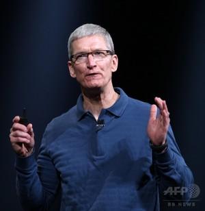 アップルのクックCEO、同性愛を公表 「神の最高の贈り物の一つ」