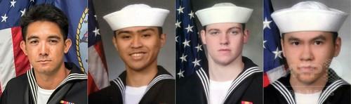 イージス艦衝突、米海軍が死者7人全員の身元確認