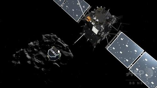 史上初の彗星着陸へ、実験機「フィラエ」母船から分離成功