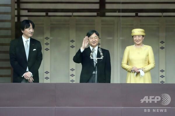 天皇陛下の即位祝う一般参賀 「世界の平和を求めつつ、一層の発展を」とお言葉